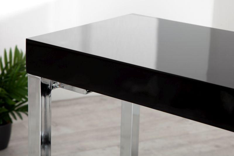 Nowoczesne biurko czarne